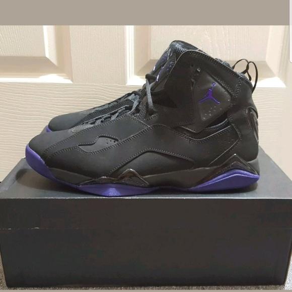 7c7deae92ec Nike Air Jordan True Flight Black Men s Shoes